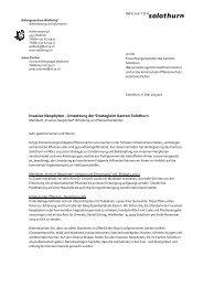 Invasive Neophyten - Umsetzung Umsetzung der ... - VSEG