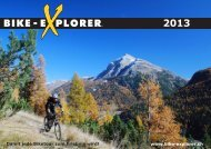 Damit jede Biketour zum Erlebnis wird! www.bike-explorer.ch