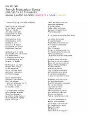 7184 Sung Text - Harmonia Mundi