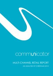 MULTI-CHANNEL RETAIL REPORT - Communicator Corp