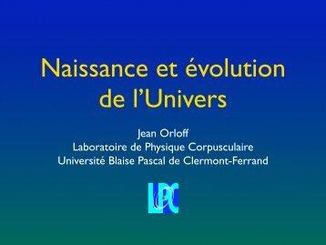 Jean Orloff Laboratoire de Physique Corpusculaire Université Blaise ...