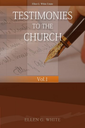Testimonies for the Church Volume 1 - A New You Ministry
