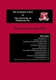 Download Newsletter December 2013 - Graduate House