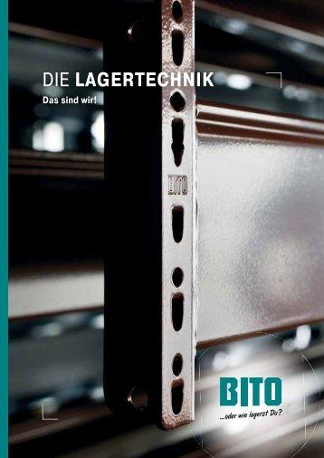 Imagebroschüre (PDF) - BITO-Lagertechnik GmbH