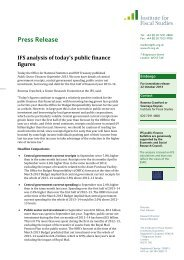 Download full version (PDF 582 KB) - The Institute For Fiscal Studies