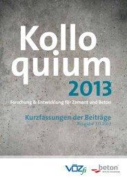 Kolloquium Kurzbeiträge 20134.39 MB - Vereinigung ...