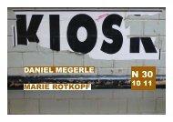 MARIE ROTKOPF DANIEL MEGERLE - kiosk