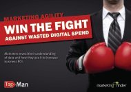 Win the fight against wasted digital spend - TagMan