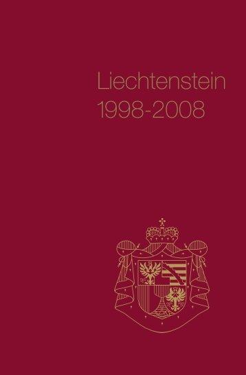 Liechtenstein 1998-2008 - Alexander Batliner Est.