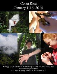 Costa Rica application handout.pub