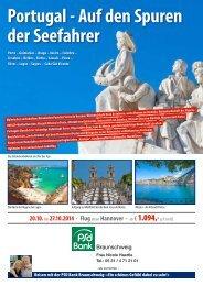 Reiseprogramm - PSD Bank Braunschweig eG