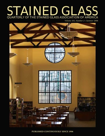 Summer 2006 - The Stained Glass Quarterly