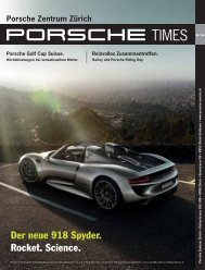 Download PDF. - Porsche Zentrum Zürich