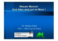 Wasser Marsch - Infoportal Moorschutz in Deutschland