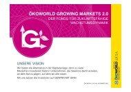 Präsentation ÖKOWORLD GROWING MARKETS 2.0 Stand ...