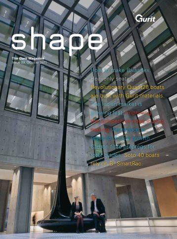 Shape - The Gurit Magazine Issue09, October 2011