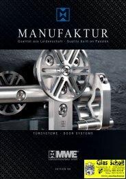 MWE Türsystem-Katalog Edition 8 - Glas Scholl