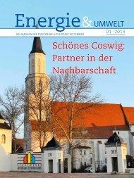 Schönes Coswig - Stadtwerke Lutherstadt Wittenberg GmbH ...