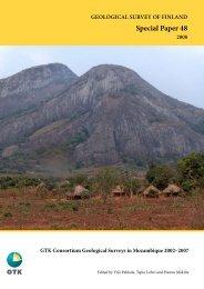 GTK Consortium Geological Surveys in Mozambique ... - arkisto.gsf.fi