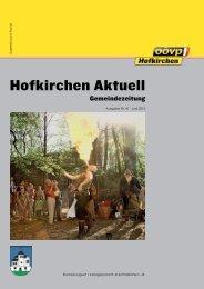 Hofkirchen Aktuell