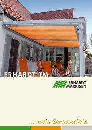 Erhardt TM Mehr Wohnkomfort im Wintergarten und Terrassendach ...