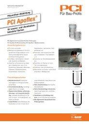 PCI Apoflex - PCI-Augsburg GmbH