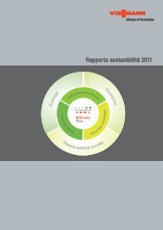 Rapporto sostenibilita'8.0 MB - Viessmann