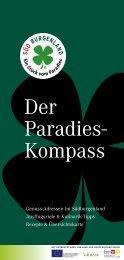 Der Paradies- Kompass - Südburgenland Tourismus