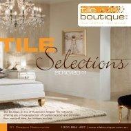 Tile Selections Catalogue - Tile Boutique