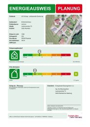 Muster-Energieausweis - e5-Salzburg