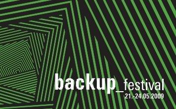 Katalog 2009 downloaden - Backup Festival