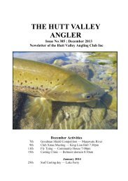 Hutt Valley Anglers Club - New Zealand Federation of Freshwater ...