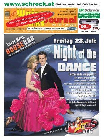 juli - Neues Weizer Bezirksjournal