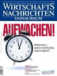 Ausgabe 10/2013 Wirtschaftsnachrichten Donauraum