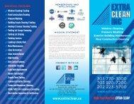 Tri-fold Brochure - Extra Clean