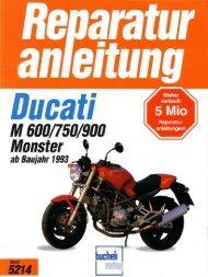 Reparaturanleitung Ducati M 600-750-900 Monster ... - WROOOM.RU