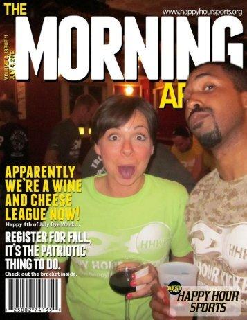 Volume 6, Issue 11 - Happy Hour Kickball