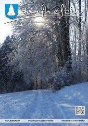 Das offizielle Monatsmagazin für Leutwil 12 / 2013 - dorfheftli