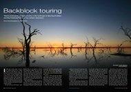 Backblock touring - Ultimate Off-Road Campers