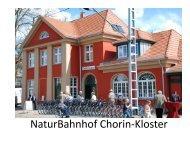 Historischer Bahnhof Chorin