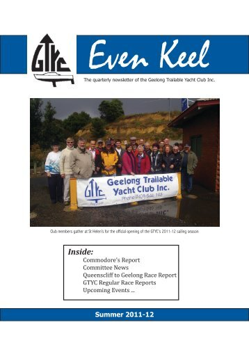 Even_Keel_Summer_2011 - Geelong Trailable Yacht Club