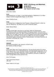 Der Griechenlandfahrer. Kazavati, ein Dorf in Blau. (PDF ... - WDR 3