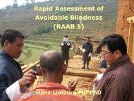 Rapid Assessment of Avoidable Blindness (RAABs)