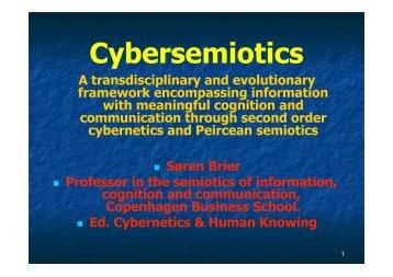 Cybersemiotics - EPICIC