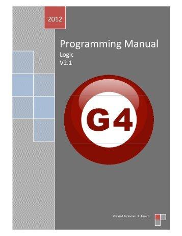 Programming Manual - Smart-Bus