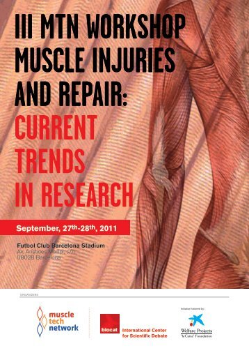 iii mtn workshop muscle injuries and repair: current trends in research