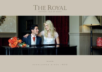Please click here to download the Royal Wedding ... - Royal Hotel