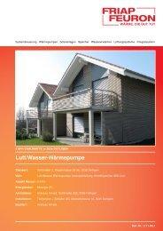 Download Referenzblatt - Friap AG