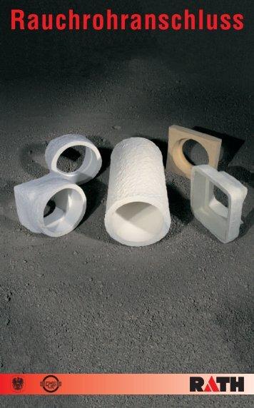Formate Rauchrohranschluss für metallische Rohre und - Rath