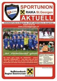 Union aktuell 3. Ausgabe Juni 2013 bearbeitet - Sportunion Raika St ...